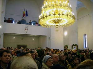 interior Biserica Serban Voda (anul 2008)