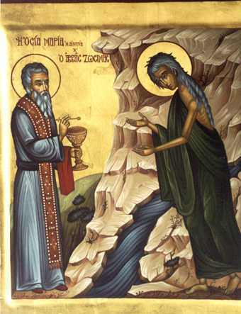 Sf Zosima _Sf Maria Egipteanca