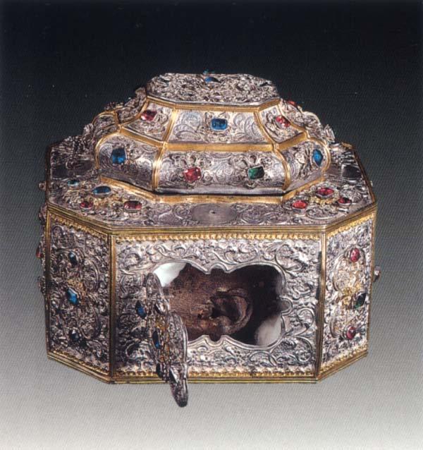 Capul Sf. Ioan Gura de Aur de la Man. Vatoped