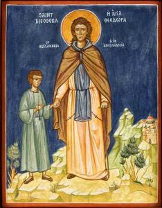cuvioasa Teodora din Alexandria