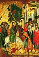 Intrarea Domnului in Ierusalim Floriile
