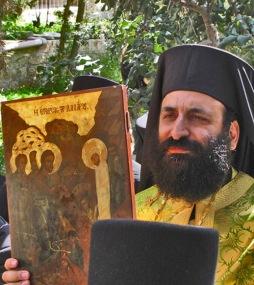 Invierea lui Lazar icoana