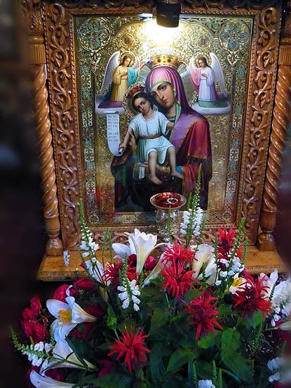 Maica Domnului candela - Irineu Protcenco