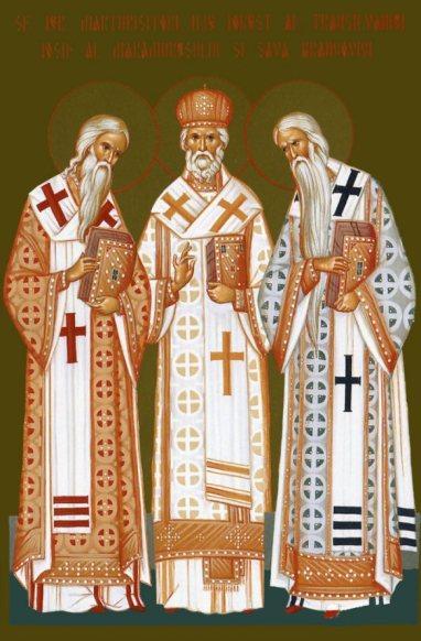 Sf ierarhi Ilie Iorest - Iosif si Sava 24 aprilie