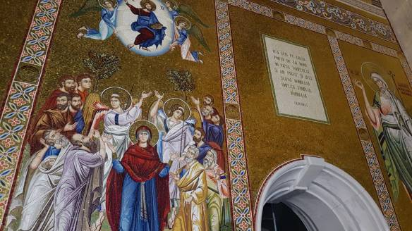 mozaic Inaltarea Domnului Catedrala Nationala