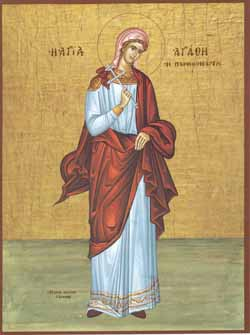 Sf. Mucenita Agata